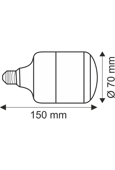 Helios Opto 40W LED Ampül Günışığı