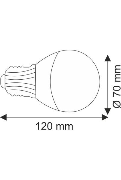 Helios Opto 7W Bataryalı Beyaz LED Ampül