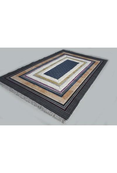 Halı Special Lacivert Yıkanabilir Modern Kilim 80 x 150 cm