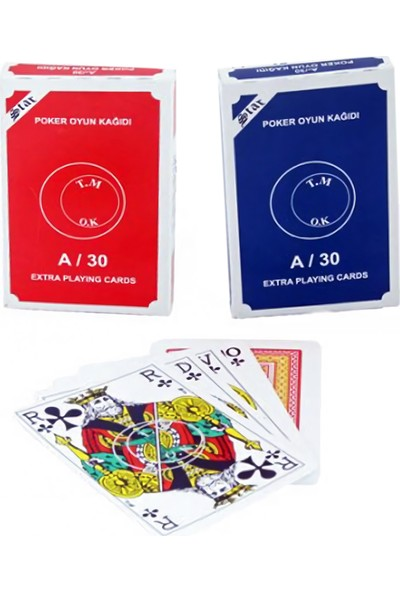Star Ekstra Poker Oyun Kağıdı Çift Deste