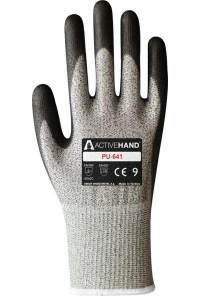Activehand Pu 641 C 5 Kesilme Dirençli Eldiven
