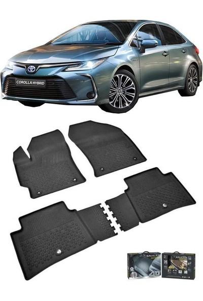 Sahler Toyota Corolla Seda 2019+4.5D Havuzlu Paspas Siyah