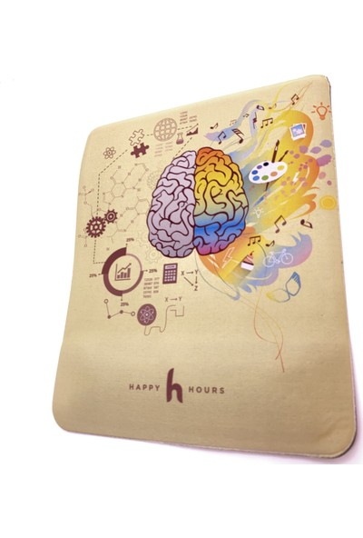 Happy Hours Brainside Bilek Destekli Mouse Pad