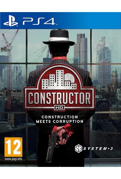 Constructor PS4 Oyun