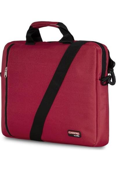 Classone BND202 Eko Serisi Notebook Çantası-Kırmızı (BND202)