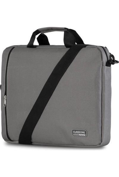 Classone BND204 Eko Serisi Notebook Çantası-Gri (BND204)