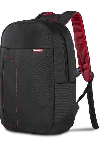 Classone BP-M100 14 inç Notebook Sırt Çantası-Siyah