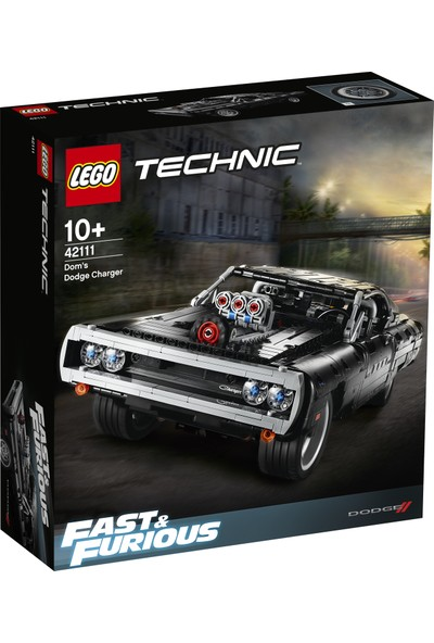 LEGO Technic 42111 Dom'un Dodge Charger'ı