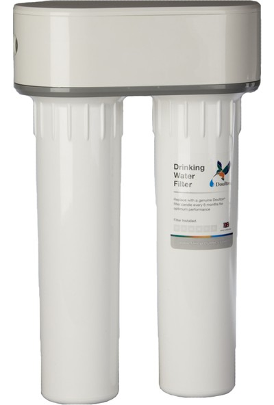 Doulton Tezgah Altı Ikili Set Su Arıtma Cihazı
