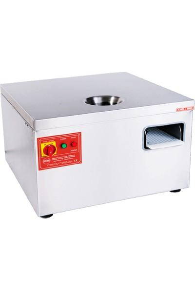 KMS-3000 Çatal, Kaşık, Bıçak Kurutma Parlatma Hijyen Makinası 3000 Adet/saat