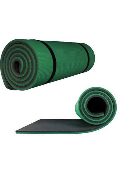Attacksport Yeşil 10 mm Pilates - Yoga Matı Yeşil