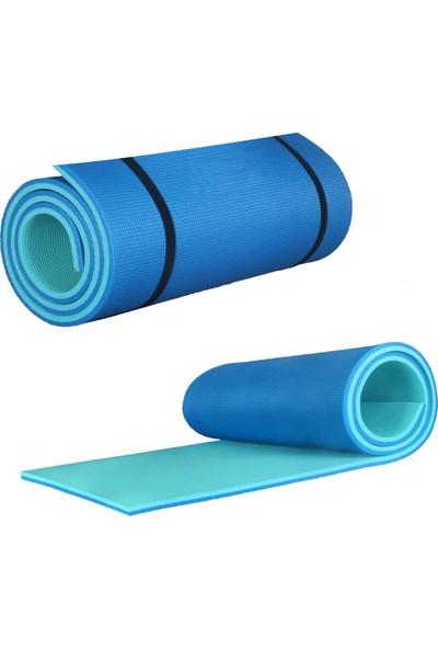 Attacksport 10 mm Pilates - Yoga Matı Mavi