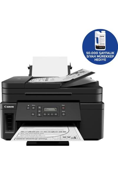 Canon Pixma GM4040 Ethernet-Wi-Fi Tanklı Yazıcı + 50000 Sayfa Photoink Mürekkep