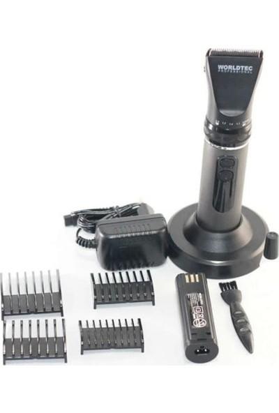 WORLDTEC WT-9508 Şarjlı Tıraş Makinesi (Şarjlı Saç Sakal Kesme Makinesi)
