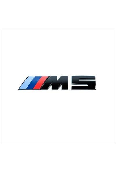 Bmw Depo Bmw M5 Siyah Logo Yazı 3D