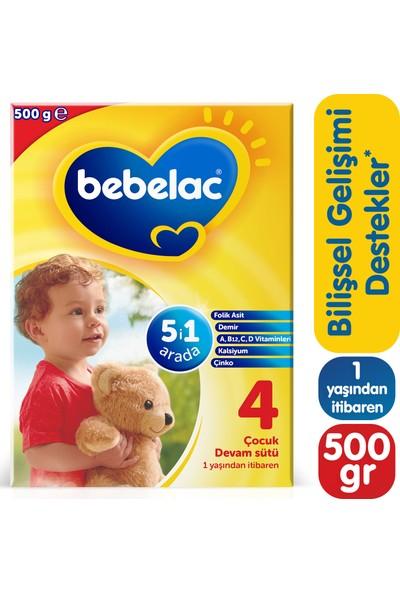 Bebelac 4 Çocuk Devam Sütü 500 gr 1 Yaşından İtibaren