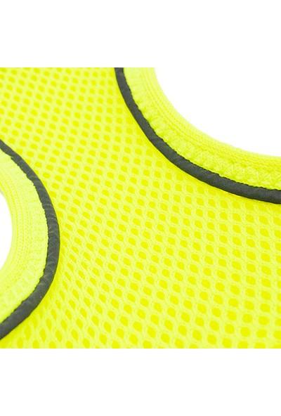 Tailpetz Airmesh Göğüs Tasması Neon-Sarı 2XS