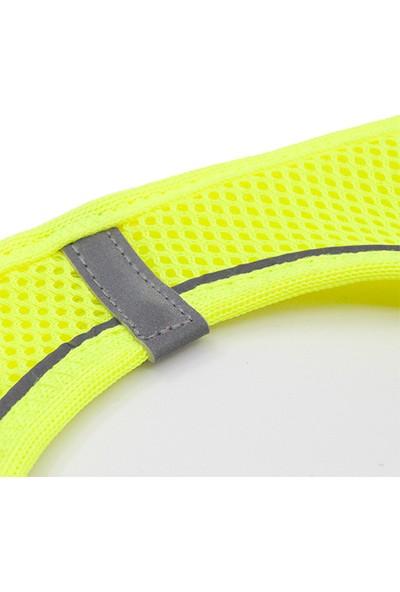 Tailpetz Airmesh Göğüs Tasması Neon-Sarı 3XS