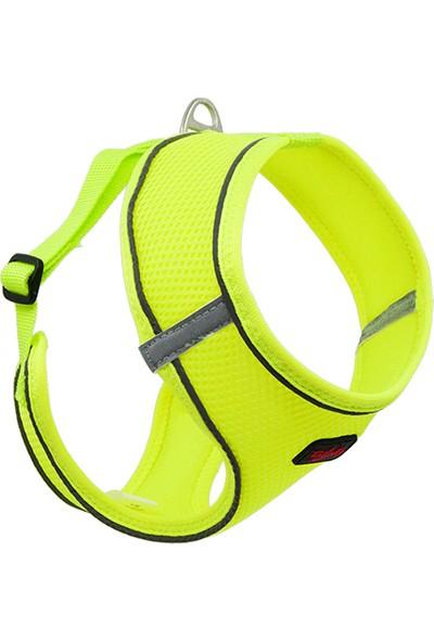 Tailpetz Step-In Göğüs Tasması Neon Lime M