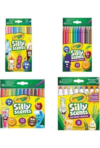 Crayola Sılly Scents Kokulu Boyama Kalemleri 4'lü