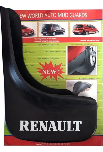 Yeni Dünya Renault 19 Europa 4'lü Paçalık Çamurluk Tozluk REN1UX025