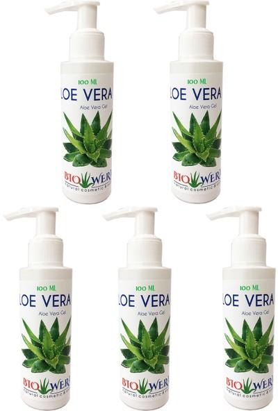Biowera Naturel Care Aloe Vera Jel %100 Saf 5'li Bıowera - Halal