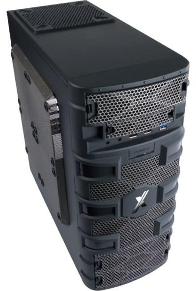 Exper Octupus RTG-2669 AMD Ryzen 5 1600 8GB 240GB SSD RX570 Freedos Masaüstü Bilgisayar