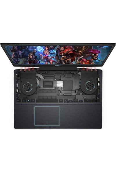 "Dell G315 Intel Core i7 9750H 32GB 1TB + 1TB SSD GTX1650 FreeDos 15.6"" FHD Taşınabilir Bilgisayar 4B75D256F81C06H"