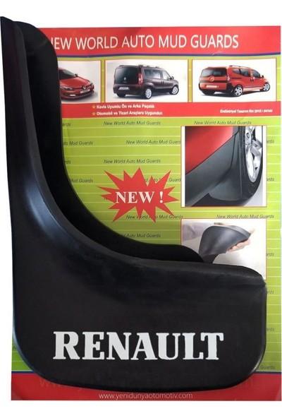 Yeni Dünya Renault Captur 4'lü Paçalık Çamurluk Tozluk REN1UX032