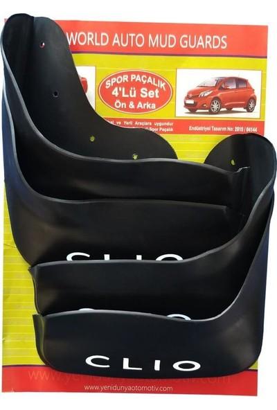 Yeni Dünya Renault Clio 2 1998-2005 4'lü Paçalık Çamurluk Tozluk REN1KX001