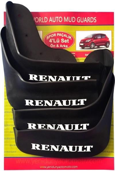 Yeni Dünya Renault Symbol 2013 Sonrası 4'lü Paçalık Çamurluk Tozluk REN1KX019