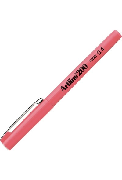 Artline 200N Fine Writing Pen Pink 0.4 mm - Pembe