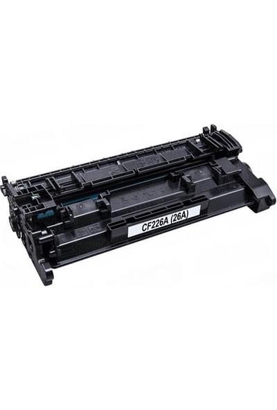 Yüzde Yüz Toner HP CF226A-HP M426-HP M426DW-HP M402 Muadil Toner 26A 3500 Sayfa Siyah