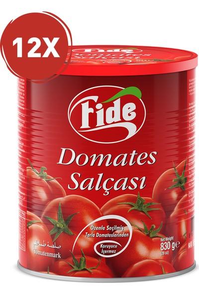 Fide Domates Salçası 830 Gr / 12 Adet