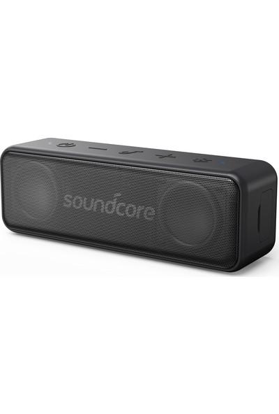 Anker Soundcore Motion B Bluetooth Hoparlör - 12W Stereo Ses - IPX7 Suya Dayanıklılık - 12 Saate Varan Şarj - Siyah - A3109