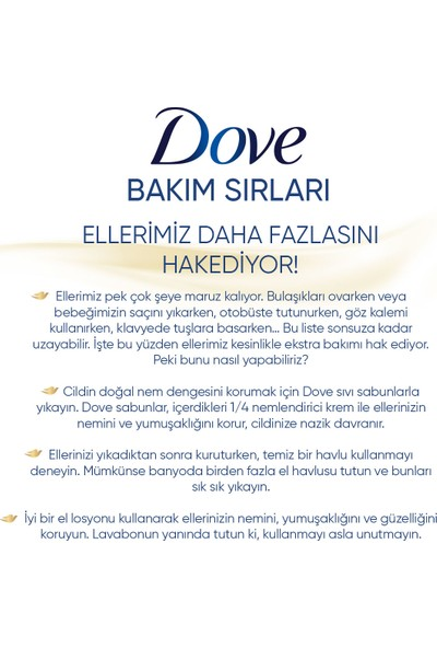 Dove Deeply Nourishing Nemlendirici Sıvı Sabun 500 ML