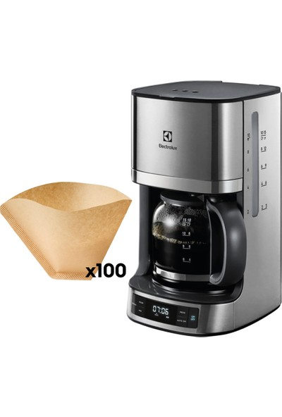 Electrolux EKF7700 Filtre Kahve Makinesi + 100 Adet Filtre Kağıdı
