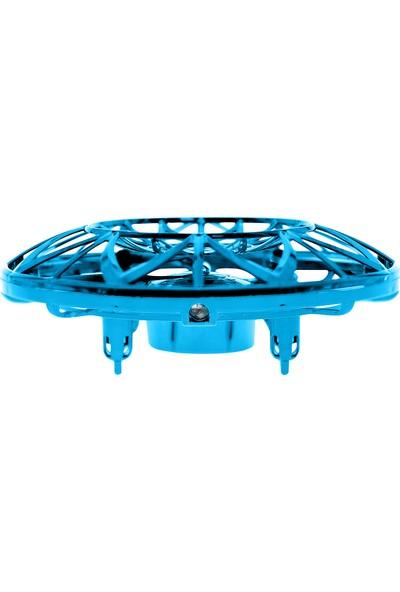 Corby CX011 Sensörlü Mini Ufo Drone - Mavi