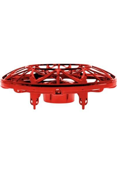 Corby CX011 Sensörlü Mini Ufo Drone - Kırmızı