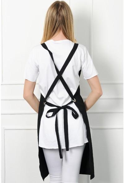 Moda Canel Askılı Masterchef Önlük