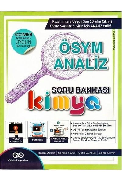 Orbital Yayınları Kimya Ösym Analiz Soru Bankası