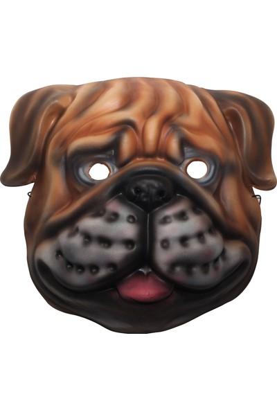 Soico Maske Seti Mavi Kelebek Fil ve Köpek 3 'lü