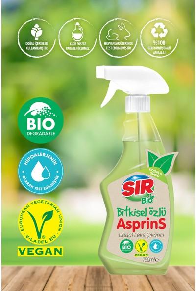 Sir Bio Asprins Doğal Leke Çıkarıcı Bitkisel Özlü 750 Ml.