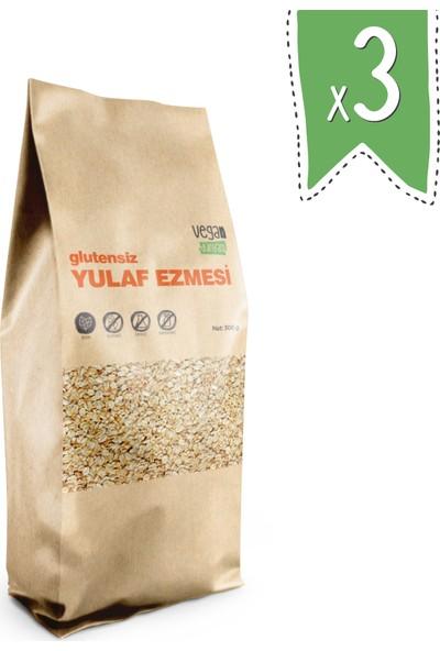 Vegan Dünyası Glutensiz Yulaf Ezmesi 300 gr x 3 Paket