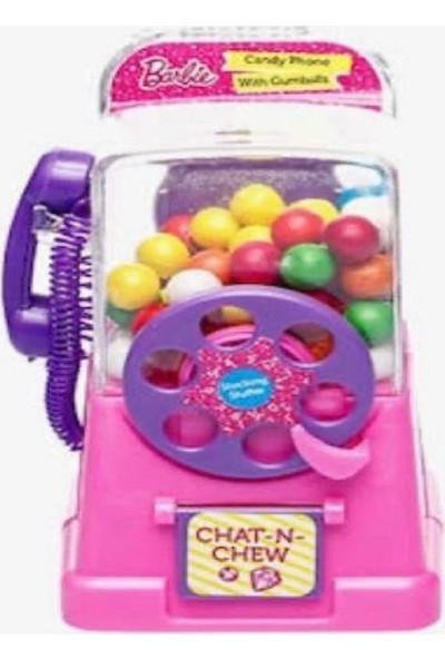 Barbie Candy Mega Phone Sakız Makinesi