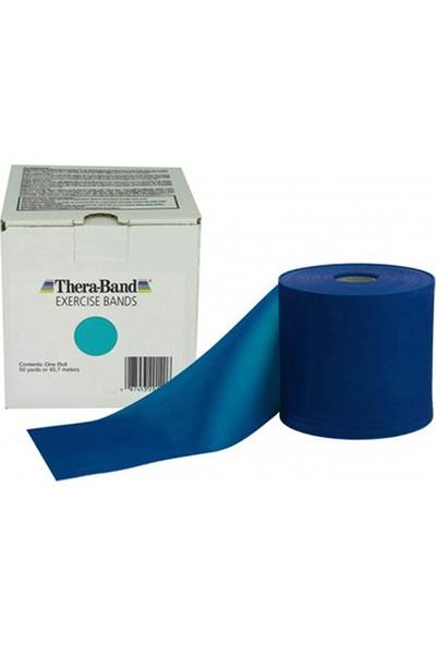 Thera-Band 50150 Egzersiz Bandı 45 Metre Ekstra Yüksek Sert Mavi