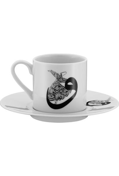 Kütahya Porselen Mevlana Kahve Takımı 10448