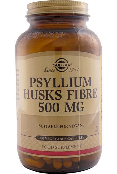 Solgar Psyllium Husks Fibre 500Mg 200 Kapsül