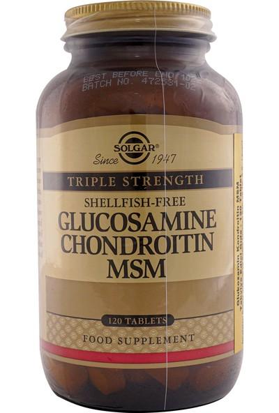 Solgar Glucosamine Chondroitin Msm 120 Tablet