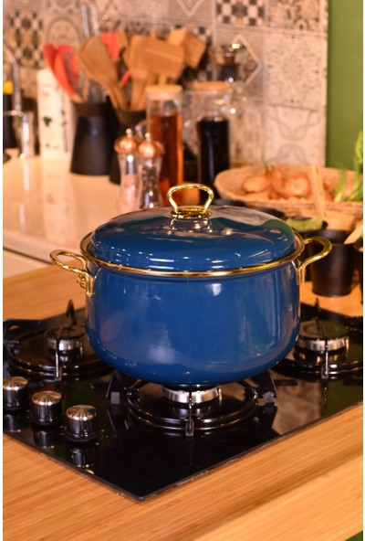 Tasev Meyra 24 cm Derin Tencere Mavi